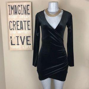 """H&M """"divided"""" Velour Dress"""